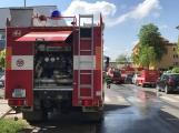 Aktuálně: Únik čpavku povolal hasiče na zimní stadion (9)