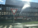 Aktuálně: Únik čpavku povolal hasiče na zimní stadion (7)