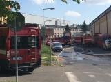 Aktuálně: Únik čpavku povolal hasiče na zimní stadion (4)