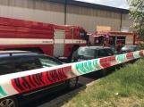 Aktuálně: Únik čpavku povolal hasiče na zimní stadion (3)