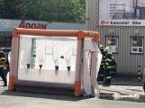 Aktuálně: Únik čpavku povolal hasiče na zimní stadion (1)