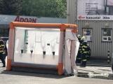 Aktuálně: Únik čpavku povolal hasiče na zimní stadion (11)