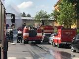 Aktuálně: Únik čpavku povolal hasiče na zimní stadion (12)