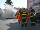 Aktuálně: Únik čpavku povolal hasiče na zimní stadion (18)