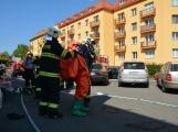 Aktuálně: Únik čpavku povolal hasiče na zimní stadion (14)