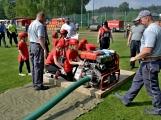 Na Příbramsku v sobotu soutěžili hasiči a v Dolních Hbitech dostali zbrusu novou Tatru (46)