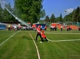 Na Příbramsku v sobotu soutěžili hasiči a v Dolních Hbitech dostali zbrusu novou Tatru (44)