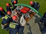 Na Příbramsku v sobotu soutěžili hasiči a v Dolních Hbitech dostali zbrusu novou Tatru (60)