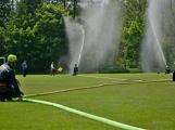 Na Příbramsku v sobotu soutěžili hasiči a v Dolních Hbitech dostali zbrusu novou Tatru (51)