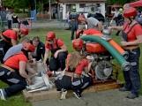 Na Příbramsku v sobotu soutěžili hasiči a v Dolních Hbitech dostali zbrusu novou Tatru (50)