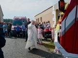 Na Příbramsku v sobotu soutěžili hasiči a v Dolních Hbitech dostali zbrusu novou Tatru (20)