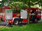 V Dobříši se připravovaly jednotky IZS na únik čpavku ve strojovně zimního stadionu (24)