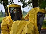 V Dobříši se připravovaly jednotky IZS na únik čpavku ve strojovně zimního stadionu (3)