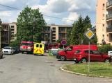 V tuto chvíli: Hasiči zasahují u nahlášeného požáru bytu v Příbrami (8)