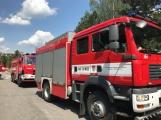 V tuto chvíli: Hasiči zasahují u nahlášeného požáru bytu v Příbrami (1)