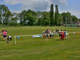 Bohatý nedělní program ve sportovně rekreačním areálu si děti řádně užily ()