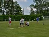Bohatý nedělní program ve sportovně rekreačním areálu si děti řádně užily (15)