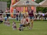 Bohatý nedělní program ve sportovně rekreačním areálu si děti řádně užily (2)
