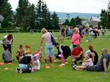 Bohatý nedělní program ve sportovně rekreačním areálu si děti řádně užily (3)