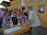Bohatý nedělní program ve sportovně rekreačním areálu si děti řádně užily (5)