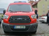 Hasiči z Rožmitálu pod Třemšínem převzali nové vozidlo (14)
