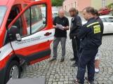 Hasiči z Rožmitálu pod Třemšínem převzali nové vozidlo (16)