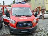 Hasiči z Rožmitálu pod Třemšínem převzali nové vozidlo (2)