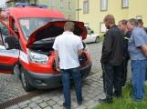 Hasiči z Rožmitálu pod Třemšínem převzali nové vozidlo (7)