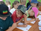 Policiáda v Dobříši prověřila dovednosti a znalosti dětí z 1. až 3. ročníků základních škol (23)