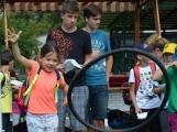 Policiáda v Dobříši prověřila dovednosti a znalosti dětí z 1. až 3. ročníků základních škol (3)