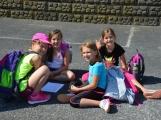 Policiáda v Dobříši prověřila dovednosti a znalosti dětí z 1. až 3. ročníků základních škol (8)