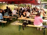 Na Březových Horách se střílelo, přijel i tank (1)