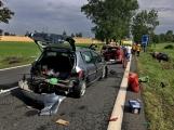 Aktuálně: Hromadná dopravní nehoda zastavila provoz na Strakonické. Z místa je hlášen větší počet zraněných ()