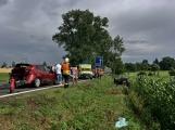 Aktuálně: Hromadná dopravní nehoda zastavila provoz na Strakonické. Z místa je hlášen větší počet zraněných (12)