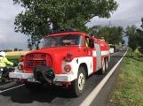 Aktuálně: Hromadná dopravní nehoda zastavila provoz na Strakonické. Z místa je hlášen větší počet zraněných (16)