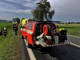 Aktuálně: Hromadná dopravní nehoda zastavila provoz na Strakonické. Z místa je hlášen větší počet zraněných (17)