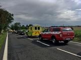 Aktuálně: Hromadná dopravní nehoda zastavila provoz na Strakonické. Z místa je hlášen větší počet zraněných (1)