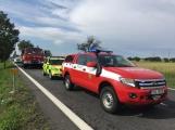 Aktuálně: Hromadná dopravní nehoda zastavila provoz na Strakonické. Z místa je hlášen větší počet zraněných (4)