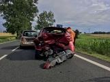 Aktuálně: Hromadná dopravní nehoda zastavila provoz na Strakonické. Z místa je hlášen větší počet zraněných (8)
