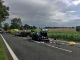 Aktuálně: Hromadná dopravní nehoda zastavila provoz na Strakonické. Z místa je hlášen větší počet zraněných (20)