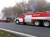 Hromadná nehoda uzavřela silnici u Chraštic ()