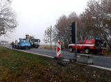 Hromadná nehoda uzavřela silnici u Chraštic (1)