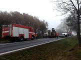 Hromadná nehoda uzavřela silnici u Chraštic (4)