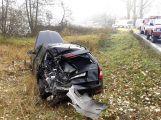 Hromadná nehoda uzavřela silnici u Chraštic (5)