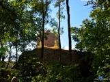 Zajímavá místa v Chráněné krajinné oblasti Brdy: zřícenina hradu Valdek ()