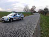 Čelní střet mezi mezi Strakonickou a Bohosticemi, silnice je uzavřena (1)