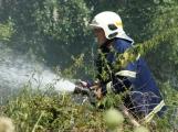 Letošní kolotoč požárů nekončí, včera to poznal i Kamýk ()