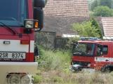 Letošní kolotoč požárů nekončí, včera to poznal i Kamýk (3)