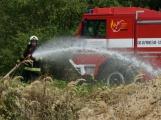 Letošní kolotoč požárů nekončí, včera to poznal i Kamýk (1)