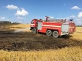 Aktuálně: Mimořádné nasazení hasičů si momentálně vyžádala likvidace požáru pole na Rožmitálsku (31)